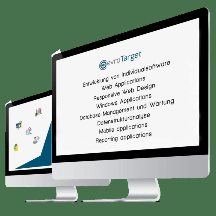 two-desktops-showing-evrotarget-services
